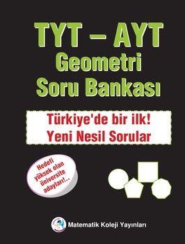 Matematik Koleji Yayınları TYT AYT Geometri Soru Bankası