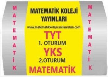 Matematik Koleji Yayınları TYT 1. Oturum YKS 2. Oturum Matematik Canlı Ders Videoları