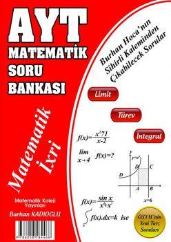 Matematik Koleji Yayınları YKS 2. Oturum AYT Matematik Soru Bankası