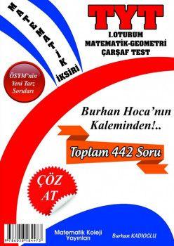 Matematik Koleji Yayınları YKS 1. Oturum TYT Matematik Geometri Çarşaf Test