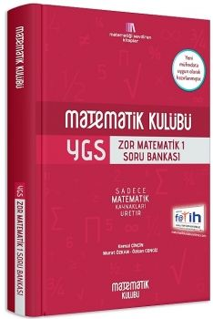 Matematik Kulübü YGS Zor Matematik 1 Soru Bankası