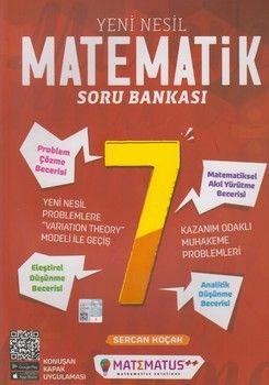 Matematus Yayınları 7. Sınıf Matematik Yeni Nesil Soru Bankası