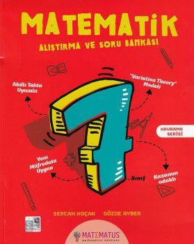 Matematus Yayınları 7. Sınıf Matematik Alıştırma ve Soru Bankası