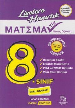 Matsev Yayıncılık 8. Sınıf Matematik Soru Bankası