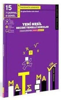Matsev Yayıncılık 8. Sınıf LGS Matematik 15 li Deneme
