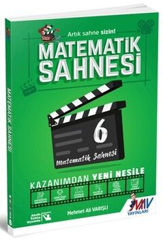 Mav Yayınları 6. Sınıf Matematik Sahnesi