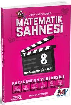 Mav Yayınları8. Sınıf Matematik Sahnesi