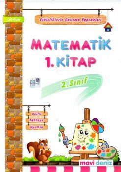 Mavi Deniz 2. Sınıf Matematik Etkinliklerle Çalışma Yaprakları 1. Kitap