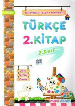 Mavi Deniz 2. Sınıf Türkçe Etkinliklerle Çalışma Yaprakları 2. Kitap
