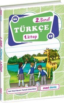 Mavi Deniz 2. Sınıf Türkçe 1. Kitap