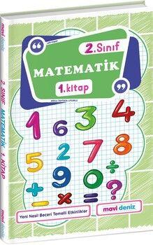 Mavi Deniz 2. Sınıf Matematik 1. Kitap
