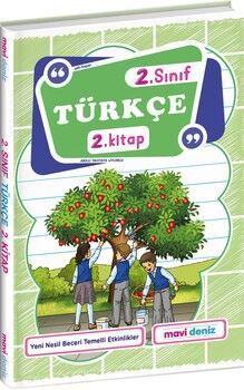 Mavi Deniz 2. Sınıf Türkçe 2. Kitap