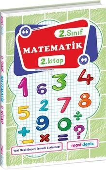 Mavi Deniz 2. Sınıf Matematik 2. Kitap