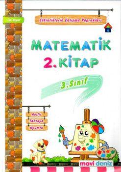 Mavi Deniz 3. Sınıf Matematik Etkinliklerle Çalışma Yaprakları 2. Kitap