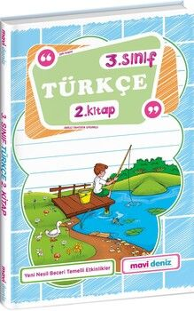 Mavi Deniz 3. Sınıf Türkçe 2. Kitap