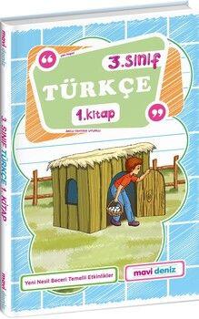 Mavi Deniz 3. Sınıf Türkçe 1. Kitap