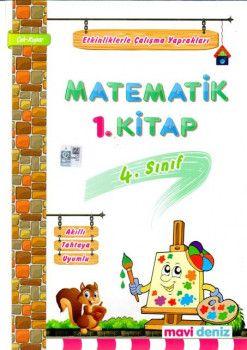 Mavi Deniz 4. Sınıf Matematik Etkinliklerle Çalışma Yaprakları 1. Kitap