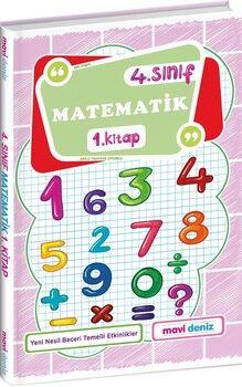 Mavi Deniz 4. Sınıf Matematik 1. Kitap