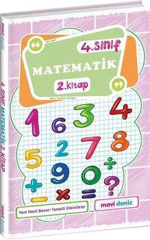 Mavi Deniz 4. Sınıf Matematik 2. Kitap