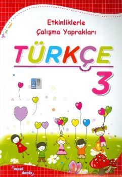Mavi Deniz Yayınları 3. Sınıf Türkçe Etkinliklerle Çalışma Yaprakları