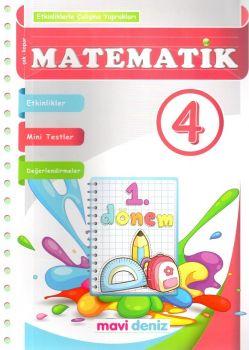 Mavi Deniz Yayınları 4. Sınıf Matematik Etkinliklerle Çalışma Yaprakları 1. Kitap