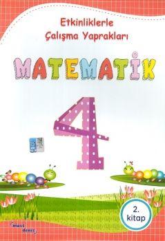 Mavi Deniz Yayınları 4. Sınıf Matematik Etkinliklerle Çalışma Yaprakları 2. Kitap