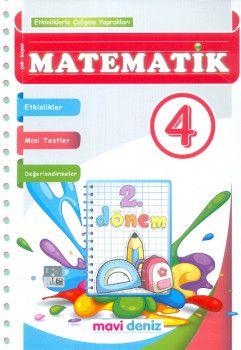 Mavi Deniz Yayınları 4. Sınıf Matematik Etkinliklerle Çalışma Yaprakları