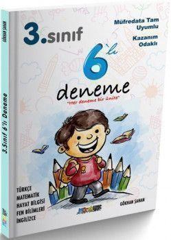 Mürekkep Yayınları 3. Sınıf 6 Deneme