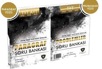 Mürekkep Yayınları TYT AYT Paragraf ve Problemler Soru Bankası