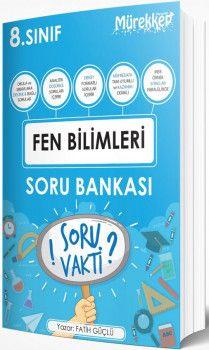 Mürekkep Yayınları 8. Sınıf Fen Bilimleri Soru Bankası