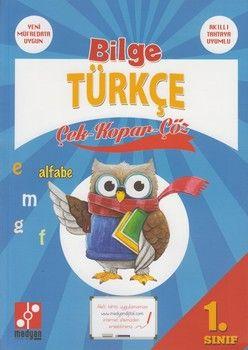 Medyan Yayınları 1. Sınıf Bilge Türkçe Çek Kopar Çöz