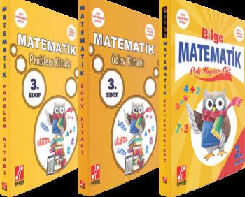 Medyan Yayınları 3. Sınıf Matematik Çek Kopar Çöz Ödev Kitabı Problem Kitabı Seti