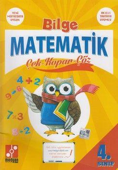 Medyan Yayınları 4. Sınıf Bilge Matematik Çek Kopar Çöz