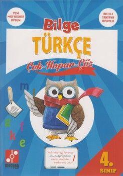 Medyan Yayınları 4. Sınıf Bilge Türkçe Çek Kopar Çöz