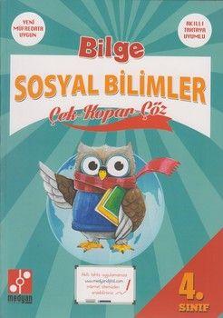 Medyan Yayınları 4. Sınıf Bilge Sosyal Bilgiler Çek Kopar Çöz
