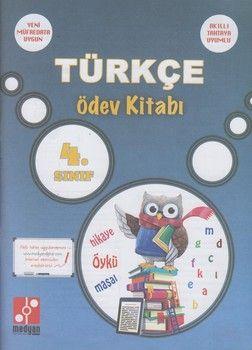 Medyan Yayınları 4. Sınıf Türkçe Ödev Kitabı