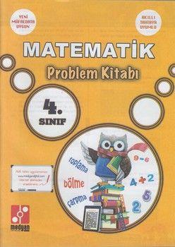 Medyan Yayınları 4. Sınıf Matematik Problem Kitabı
