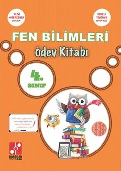 Medyan Yayınları 4. Sınıf Fen Bilimleri Ödev Kitabı