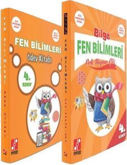 Medyan Yayınları 4. Sınıf Fen Bilimleri Çek Kopar Çöz Ödev Kitabı Seti