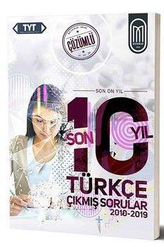 MEG Yayınları TYT Türkçe Son 10 Yıl Çözümlü Çıkmış Sorular