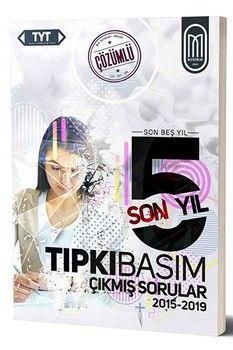 MEG Yayınları TYT Tıpkı Basım Son 5 Yıl Çözümlü Çıkmış Sorular