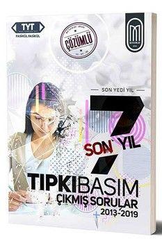 MEG Yayınları TYT Tıpkı Basım Son 7 Yıl Fasikül Çözümlü Çıkmış Sorular