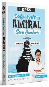 Mehmet Eğit KPSS Coğrafya nın Amiral Soru Bankası