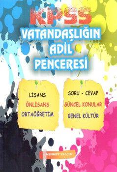 Mehmet Yalçın KPSS Ortaöğretim Ön Lisans Vatandaşlığın Adil Penceresi