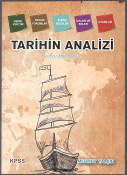 Mehmet Yalçın KPSS Tarihin Analizi Konu Anlatımı