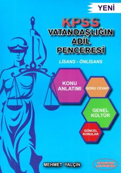 Mehmet Yalçın KPSS Lisans Önlisans Vatandaşlığın Adil Penceresi