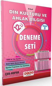 Merkez Yayınları 8 . Sınıf TEOG 2 Din Kültürü ve Ahlak Bilgisi 12 li Deneme Seti Çek