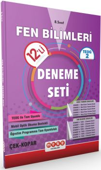 Merkez Yayınları 8 . Sınıf TEOG 2 Fen Bilimleri 12 li Deneme Seti Çek