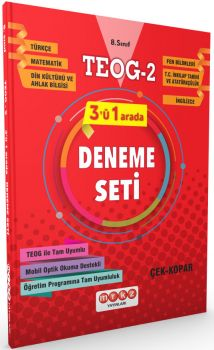 Merkez Yayınları 8. Sınıf TEOG 2 Tüm Dersler Deneme Seti 3 ü 1 Arada