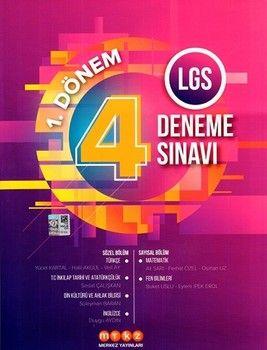 Merkez Yayınları 8. Sınıf LGS 1. Dönem 4 Deneme Sınavı
